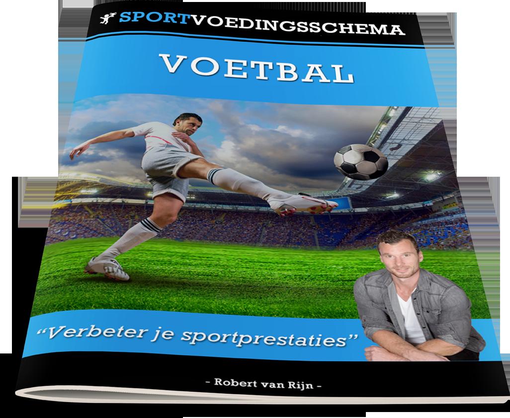 sportvoedingsschema voetbal
